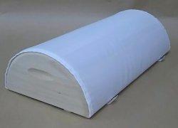 画像1: 木枕 M  (専用枕カバー付)